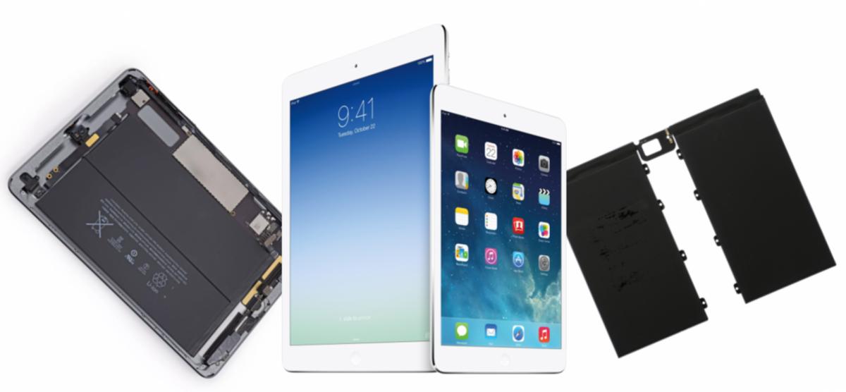 Быстро разряжается Apple Ipad