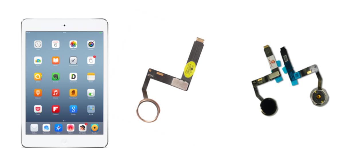 сколько стоит замена кнопки home ipad