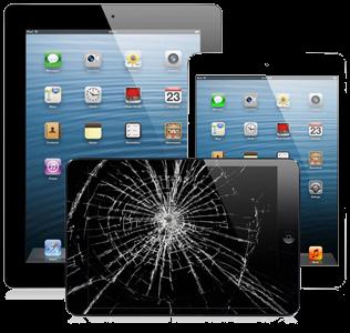 Разбился экран Ipad